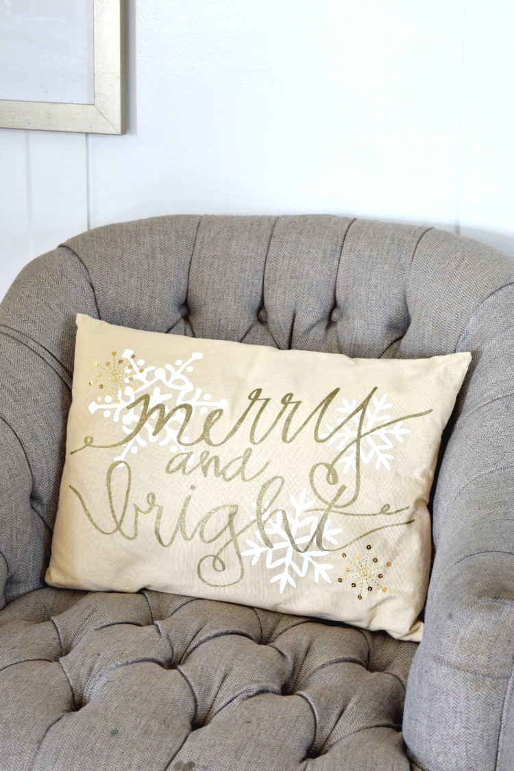 Merry and Bright Pillow