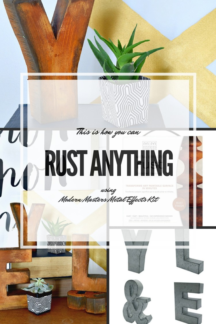 How to RUST ANYTHING using Modern Masters Metal Effects Kit
