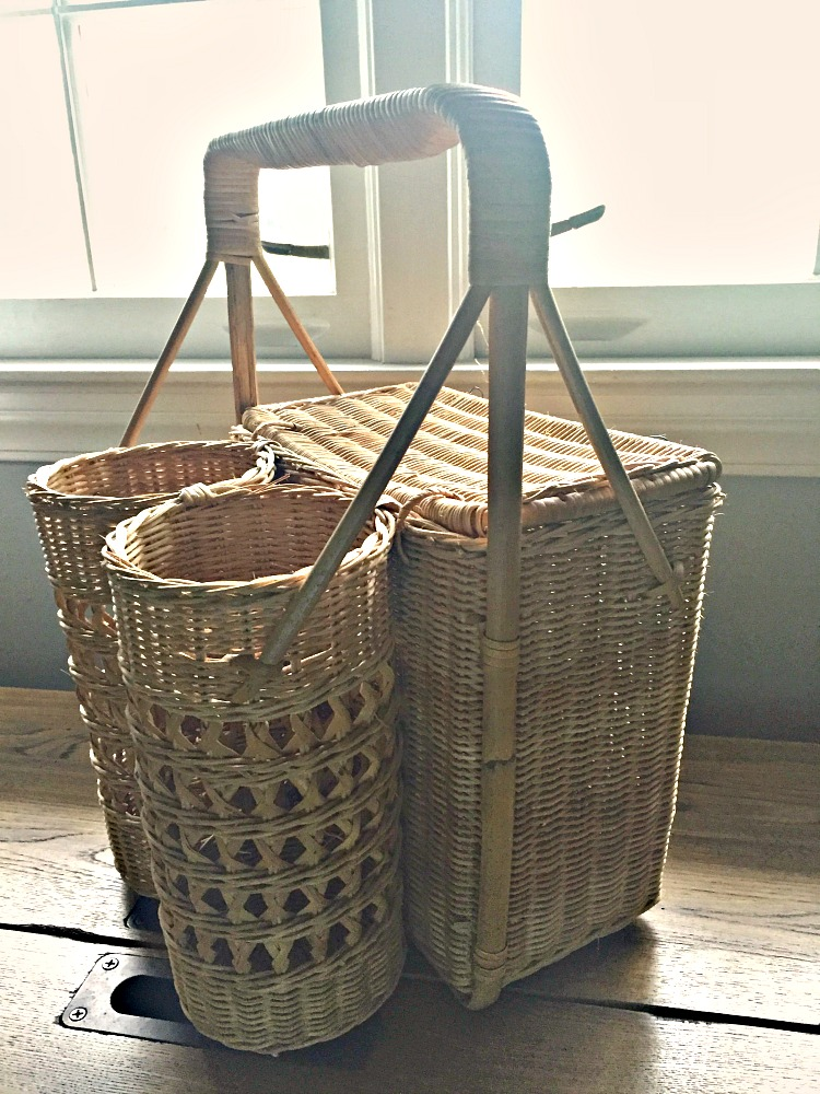 Paint your Picnic Basket to give it an updated look.