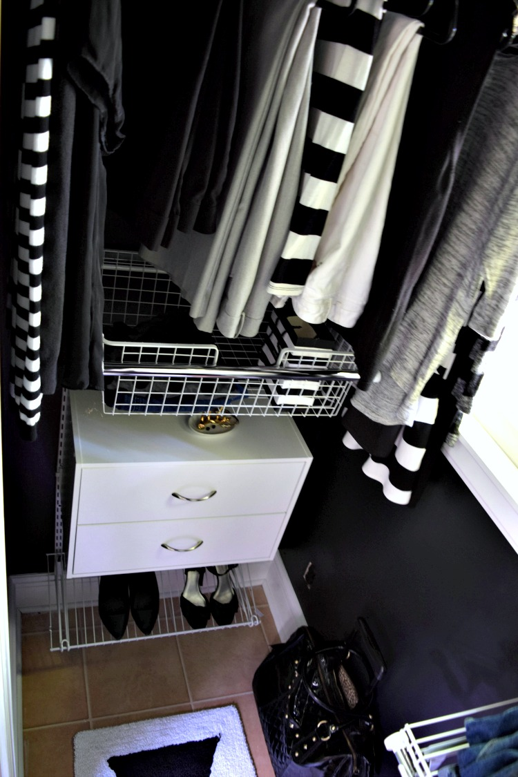 DIY His and Hers Closet