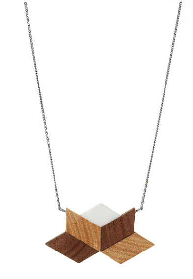 This super cute necklace from UncommonGoods would look great with any outfit!