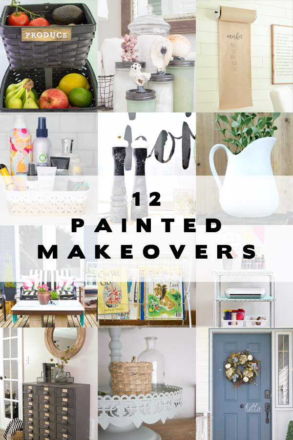 12 Painted Makeovers!