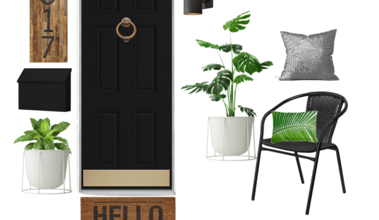 Front porch refresh with Wayfair!