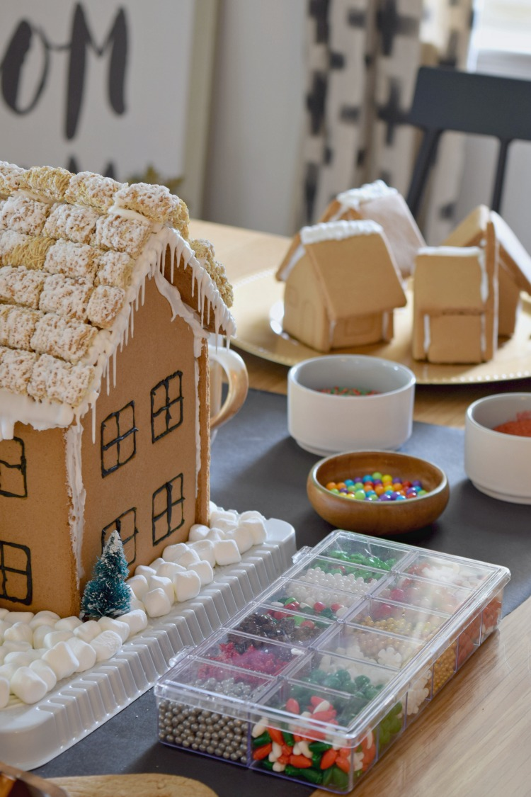 How to host your own Gingerbread House Decorating Party!