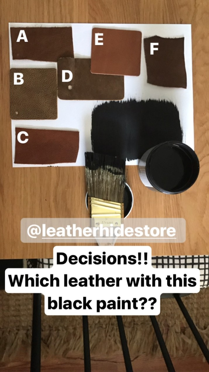 Which leather should I choose?