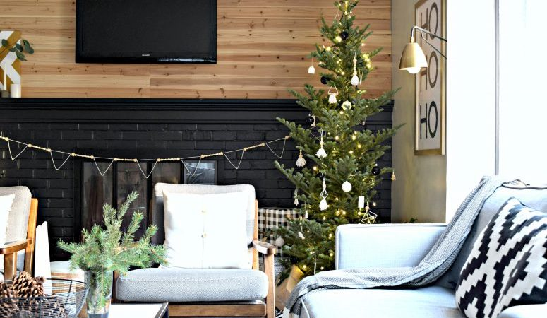 A Modern Christmas Home Tour