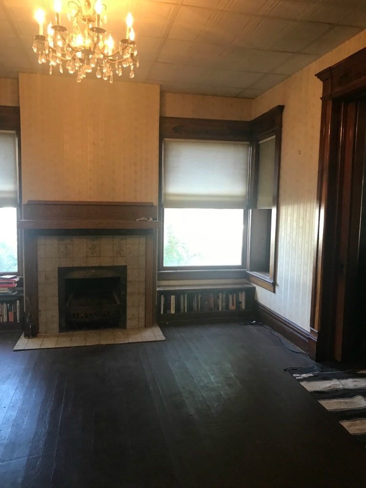 Living Room Before for Fall 2018 One Room Challenge
