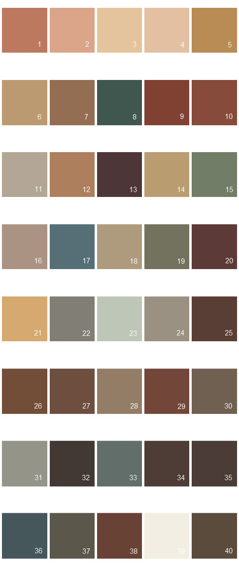 Behr Paint Color Chart Related Keywords Suggestions Behr Paint Color