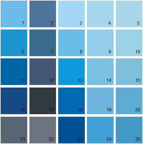 Benjamin Moore Blue House Paint Colors Palette 15