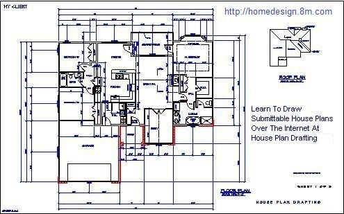 Welcome To House Plan Drafting, The Architectural Drafting Classroom On The  Internet. If Youu0027re Interested In Learning To Draw House Plans, Youu0027ve Come  To ...