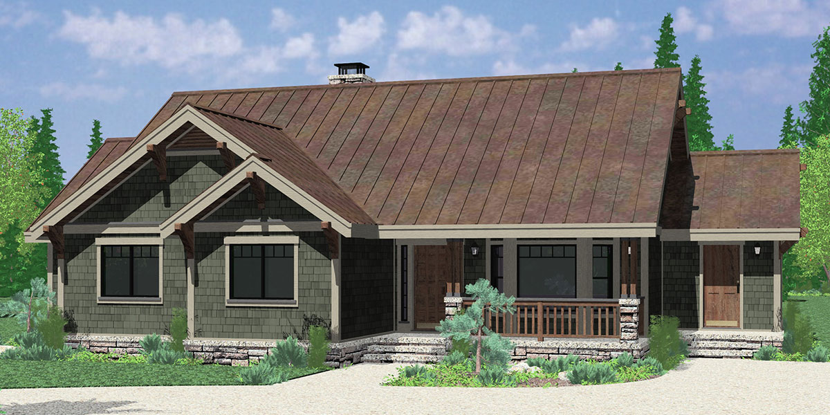 Ranch House Plans, American House Design, Ranch Style Home