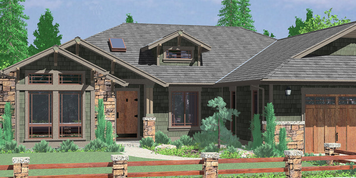Craftsman House Plans, For Homes Built In Craftsman Style