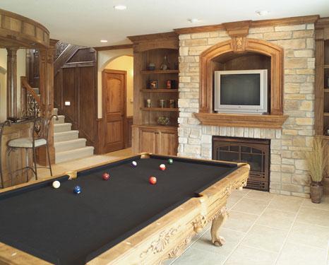 Image Of Home Billiard Room Design