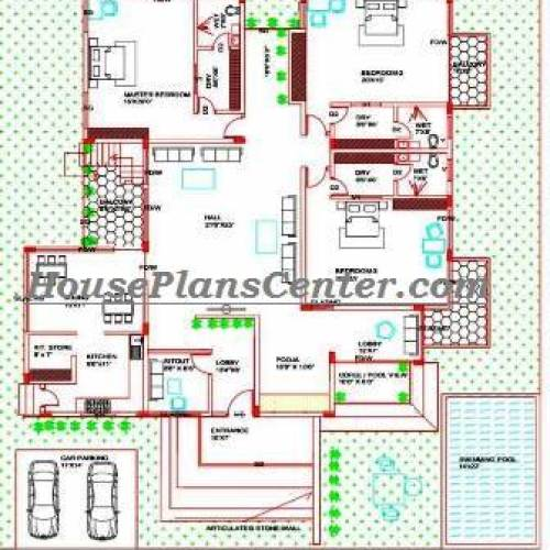 House plans 2d drawings