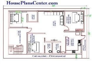 30x50 vastu house plan first floor