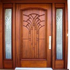 Main door design North face