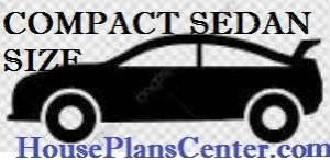 compact sedan parking size