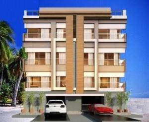 front elevation for apartment design 40x40