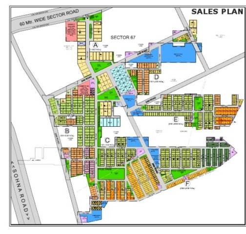 RESIDENTIAL LAYOUT PLOTS DESIGN AT BANGALORE