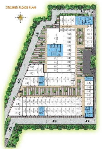 RESIDENTIAL LAYOUT PLOTS DESIGN FOR LAYOUT DESIGN WORKS AT SHIMOGA