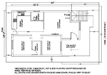 30x60 House plan 213