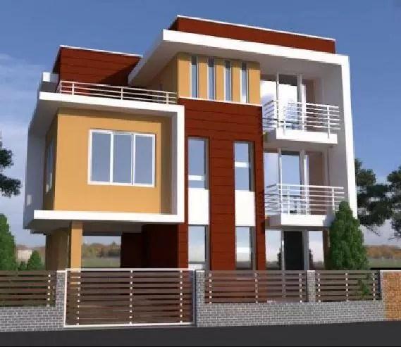 45x45 front elevation design