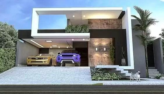 45x45 house 3d elevation design