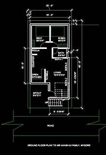 20x40-east-face-Ground-floor-plan