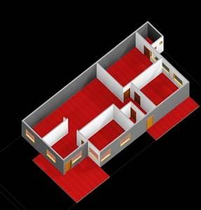 30x50 house plans 3BHK 3D FLOOR PLAN