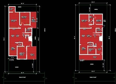 30x50 house plans 3BHK PLAN DUPLEX HOUSE PLAN