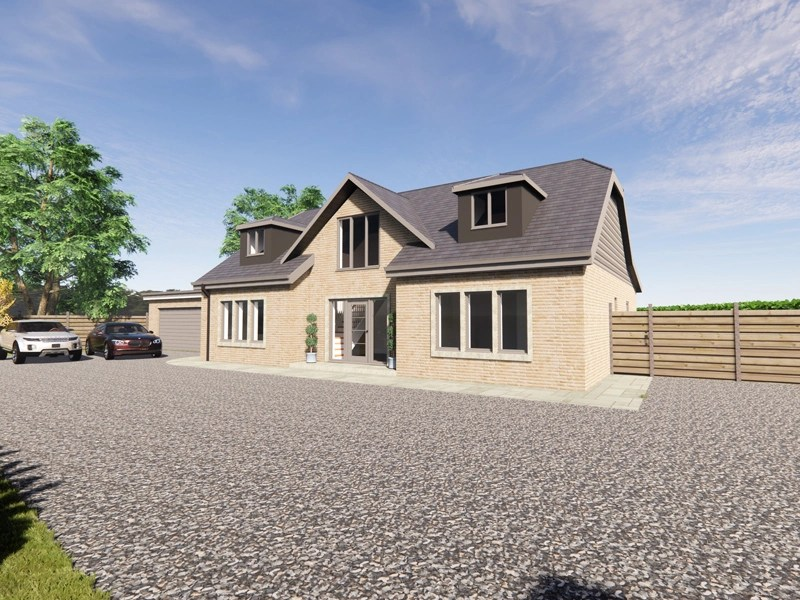 modern country dormer bungalow designs