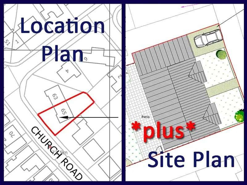 Planning Maps Bundle Personalised Location and Site Plan – Site Plan Maps