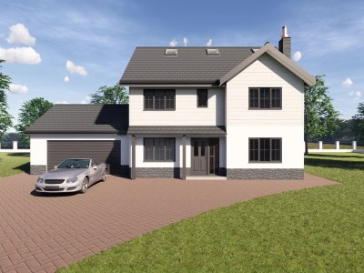 2.5 storey house design
