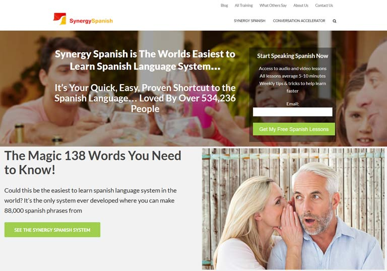 Learn to speak Spanish quickly and easily with Synergy Spanish