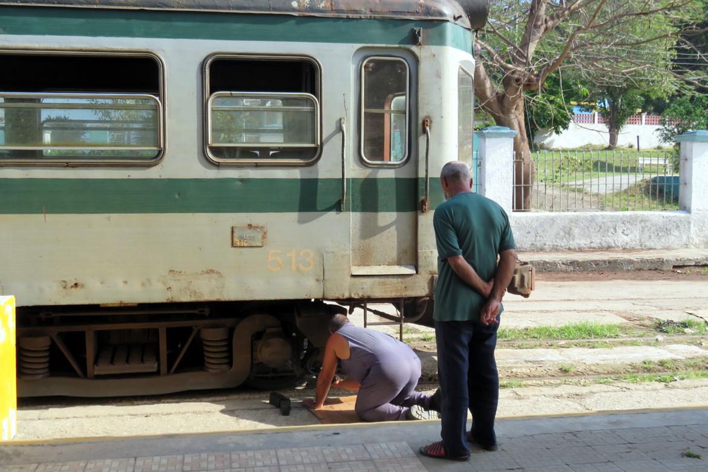 The Hershey Train, Casablanca Station, Cuba