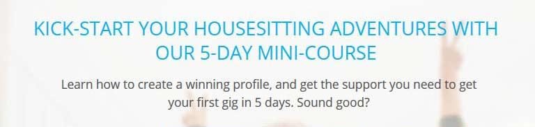 Housesit Hustle 5 Day Mini Course