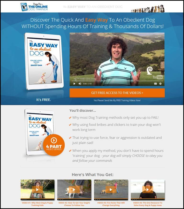 Easy dog training by Doggy Dan