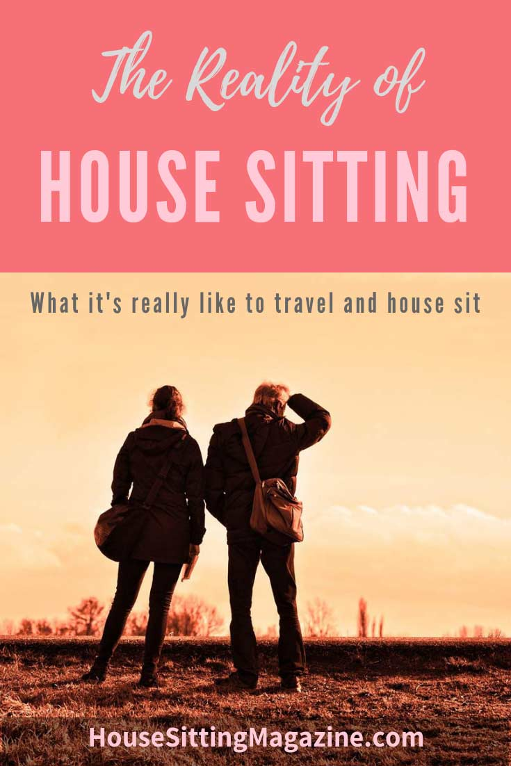 The reality of house sitting - what it's really like to travel and house sit