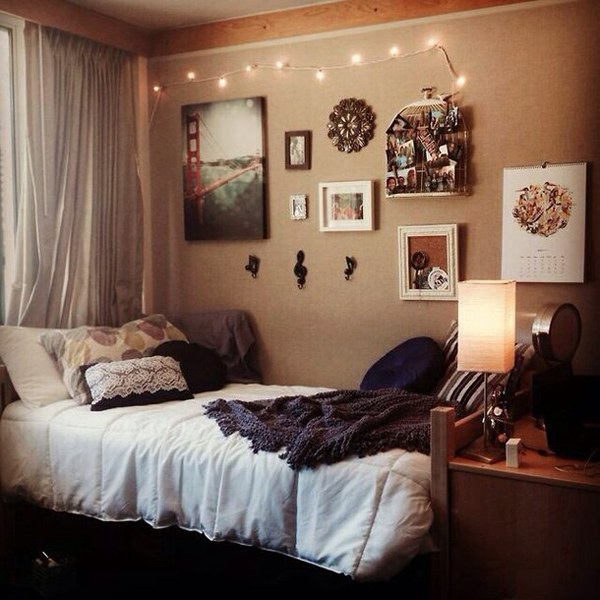 Wall Decor For Dorm Rooms Cool Room Ideas