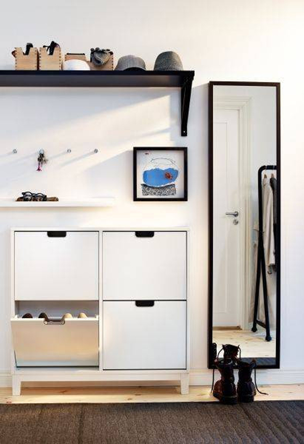 20 Modern And Minimalist Shoe Storage Solutions House