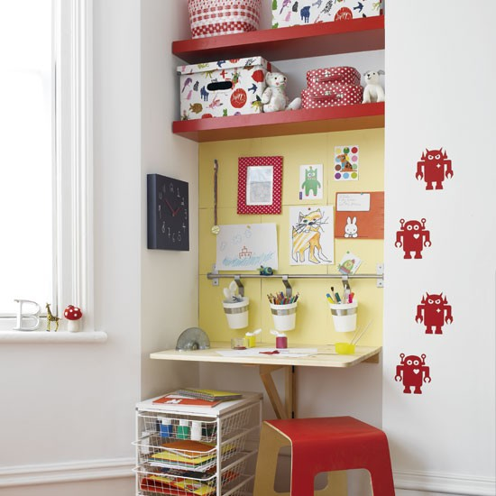 Child's work area | Children's rooms | Design ideas | Image | Housetohome