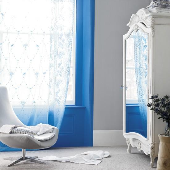 Modern blue bedroom | Decorating ideas | image | housetohome.co.uk