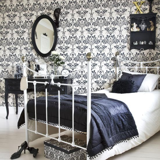 Bold bedroom | Guest bedrooms - 10 ideas | Bedroom ideas | Photo Gallery | Housetohome.co.uk