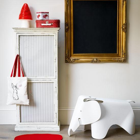 Childen's bedroom with blackboard | Children's decorating ideas | Children's bedroom | Image | Housetohome