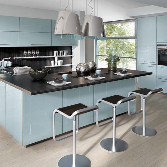 Mark David's Brion Aqua kitchen   Kitchen ideas from Mark David   Housetohome.co.uk