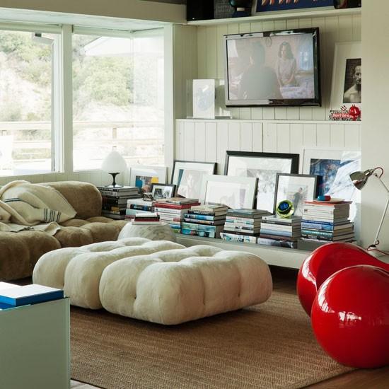 Modern chalet living room | Living room ideas | Livingetc | Housetohome