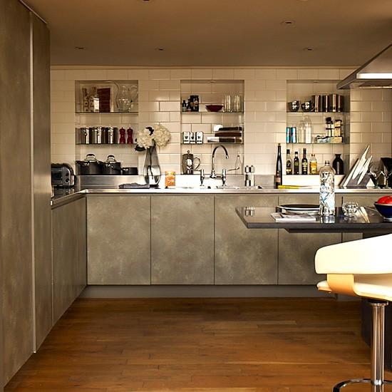 Urban Kitchen Contemporary Kitchens Storage Housetohome