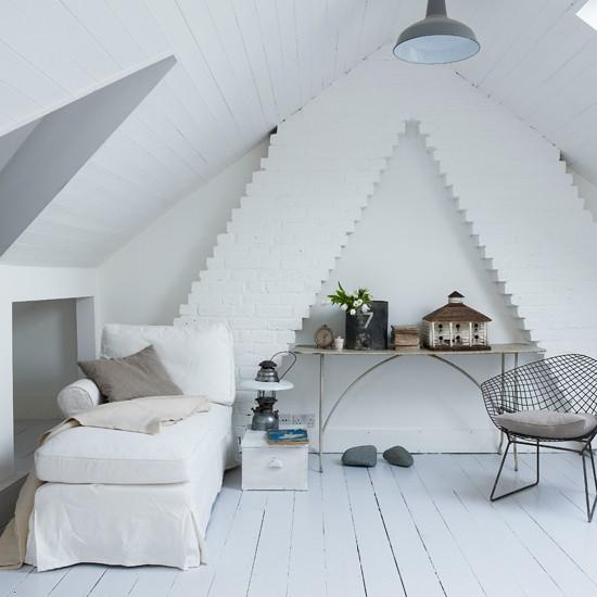 Attic room | Cool, calm renovation house tour