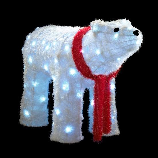Outdoor Xmas Lighting Uk Decoration News & Polar Bear Christmas Outdoor Decoration Led Lights   Psoriasisguru.com