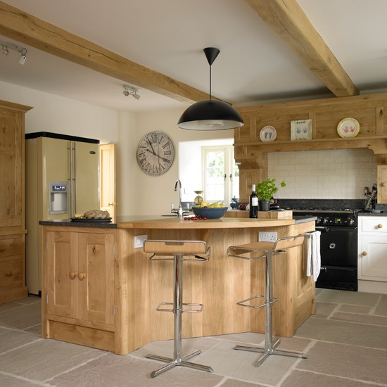 Country Kitchen Designs Islands